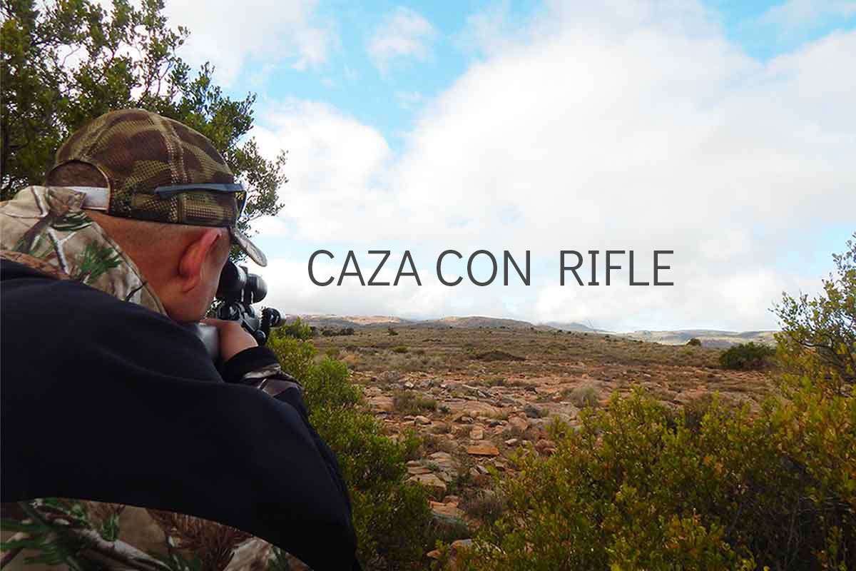 Caza con rifle